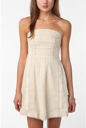 San clemente strapless dress