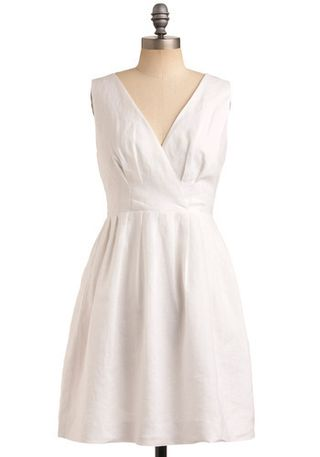 White dress modcloth